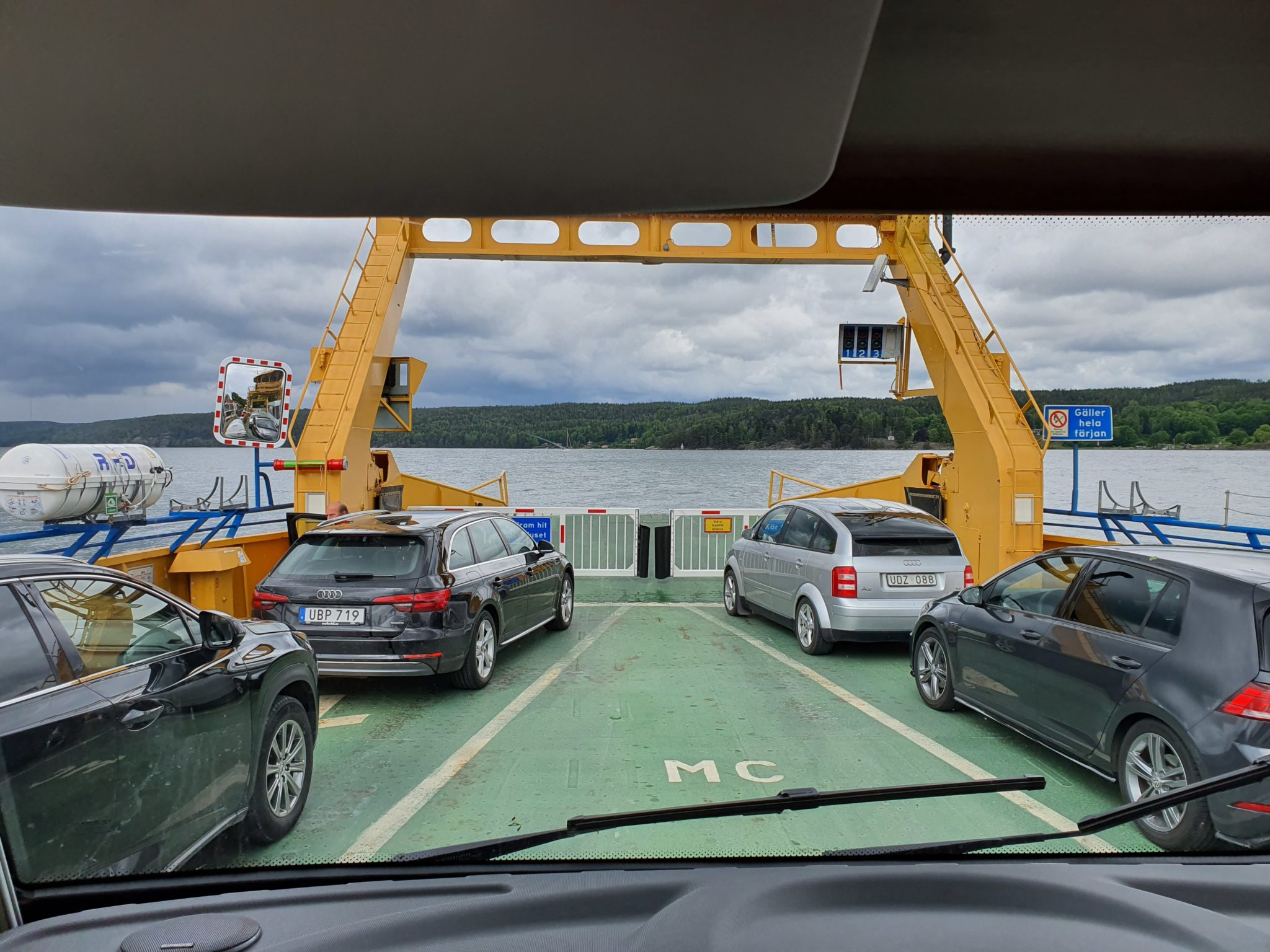 Ferry over Bråviken