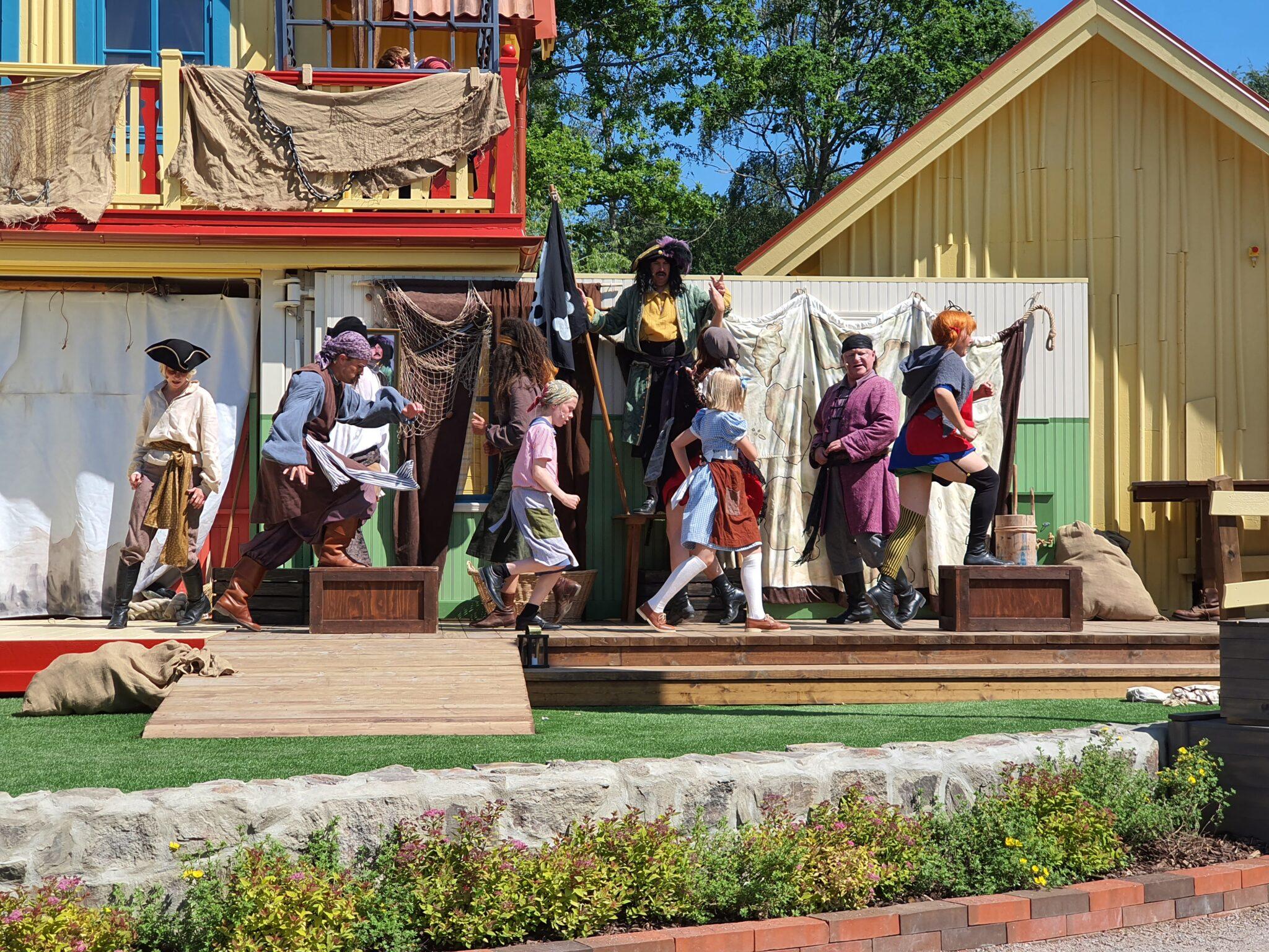 Pippi och sjörövarna
