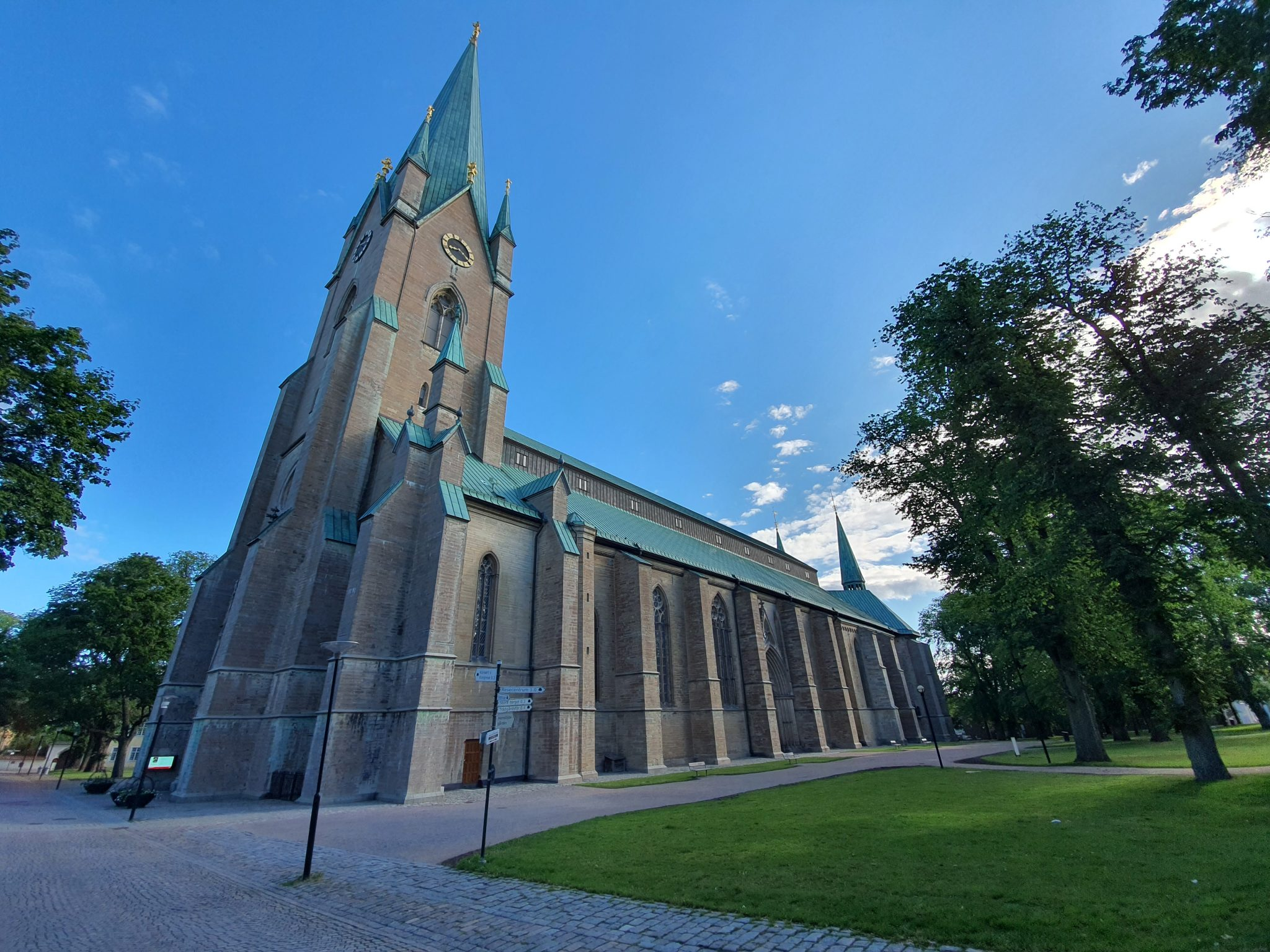 Motorhome in Linköping, Linköping Cathedral
