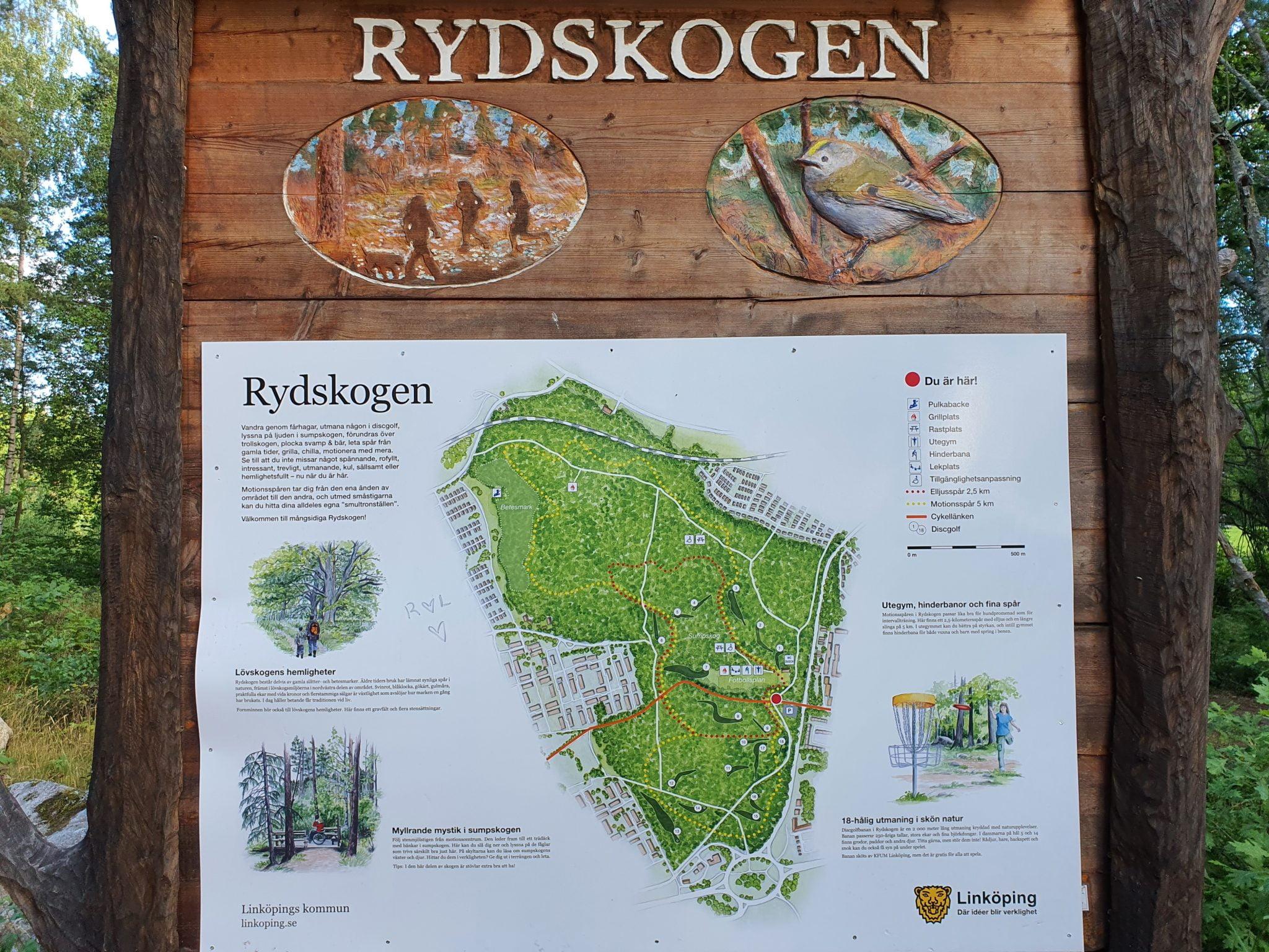 Rydsskogen, Linköping